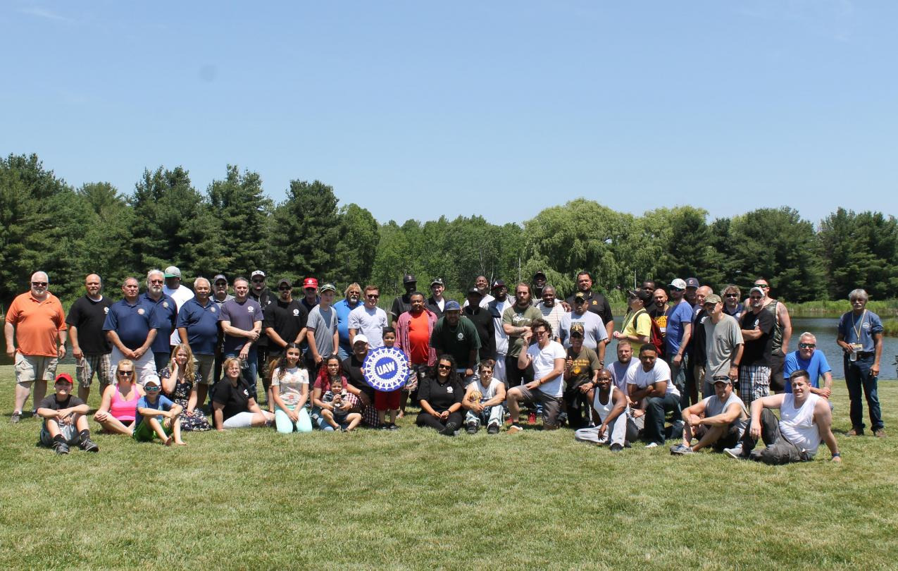 2018 Region 9 Veterans Committee Annual Fishing Trip