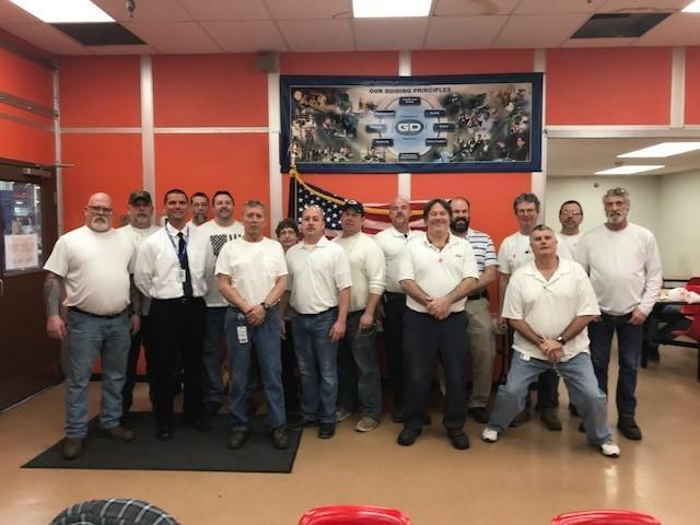 White Shirt Day UAW Local 1193